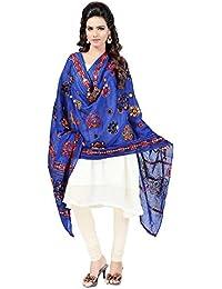 [Sponsored]Priyanshi Women's Kutch Work Cotton Stoles & Dupattas Aari Work