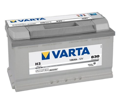 Varta Silver Dynamic Car Battery H3 12 V 100 Ah 830 A 600 402 083 BATTERY