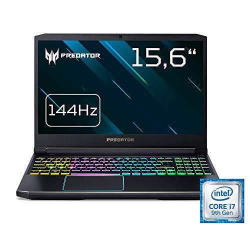 Acer Predator Helios 300 (PH315-52-73XY) 39,6 cm (15,6 Zoll Full-HD IPS matt) Gaming Notebook (Intel Core i7-9750H, 16GB RAM, 512GB PCIe SSD, NVIDIA GeForce RTX 2060, Win 10 Home) schwarz/blau