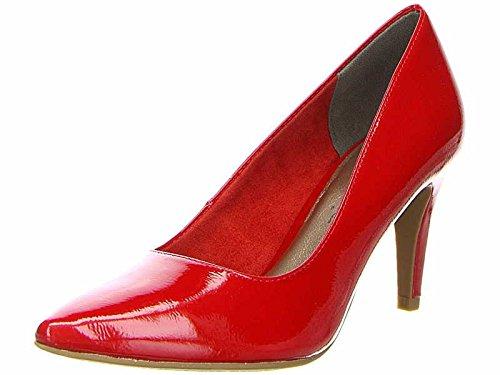 Tamaris 1-22447-21 Damen Schuhe Lack Pumps High Heels