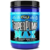 Gaspari Nutrition SuperPump MAX 640 g Blue Raspberry Pre-Workout Drink Powder