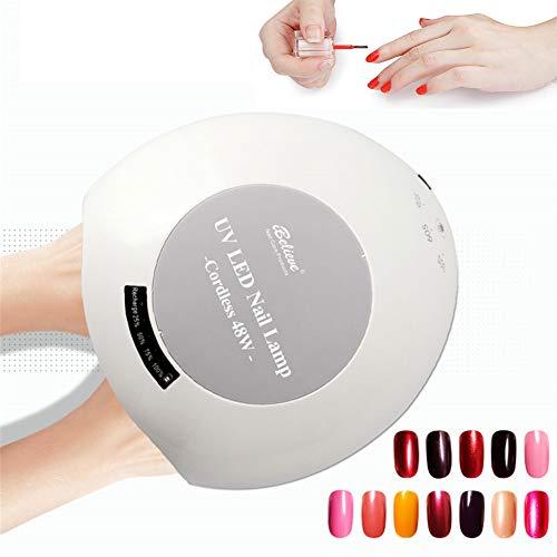 48W UV Lámpara LED Uña Lámpara Secador uñas Todos