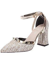 ffcdeb02c9e3a Darringls 2019 Moda Sexy Zapatos Mujer Zapatos De Tacón Mujer Primavera  Verano Sandalias Fiesta High Heels