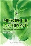 Philosophie de la biodiversite - Virginie Maris