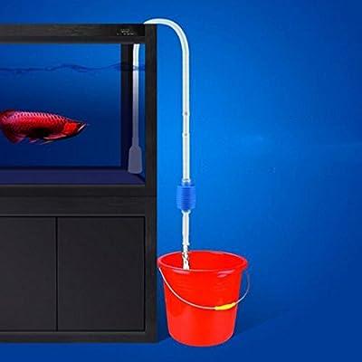 Praktische Vakuum-Wasserwechsel Bodenreiniger Siphon Pump Aquarium Reinigungswerkzeug