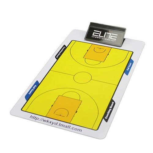 Professional Soccer Fußball Basketball Coach Match Training Tactical Teller Dry Erase Zwischenablage Coaching Taktik Magnet Board Set mit Stift Löschen [1Set]