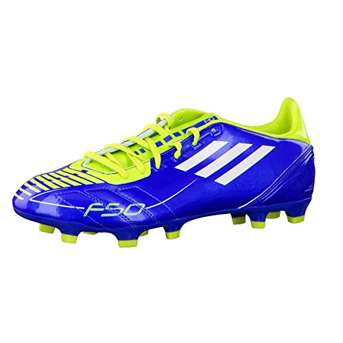 Adidas F10 TRX Fester Boden Fußballstiefel Blau