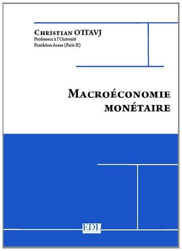 Macroéconomie monétaire