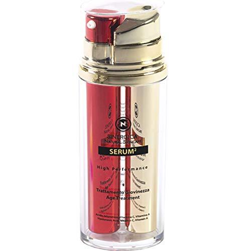 Mejor Suero Crema Antiarrugas Mujer Hombre-2 Productos, Doble Resultado, Efecto Inmediato – 4 tipos de Ácido Hialurónico…