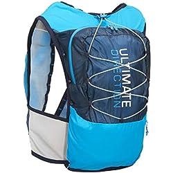 Ultimate Direction Ultra Chaleco V4 HOMBRE CORRER Hidratación Chaleco Azul - Azul, Medium