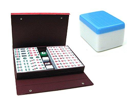XXL Mah-Jongg Mahjongg Mahjong 5 KG (blau)