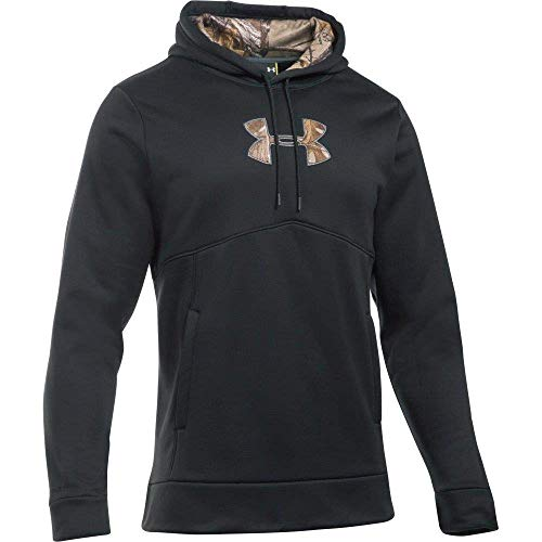 Under Armour Herren Storm Caliber Hoodie, Herren, Black/Realtree Ap-Xtra, Large (Kinder Armour Under Camo)