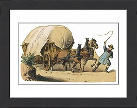 Framed Print Of Wagon Scrap