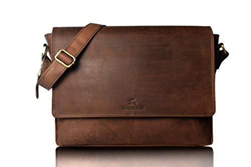 Leaderachi-Real-Vintage-Hunter-Leather-35-Ltrs-Muskat-Shoulder-Laptop-Messenger-Bag