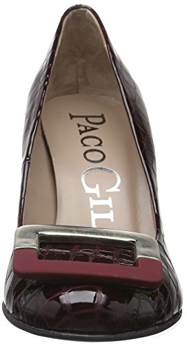 Paco Gil - P3147, Scarpe col tacco Donna Rosso (Rosso (Wine))