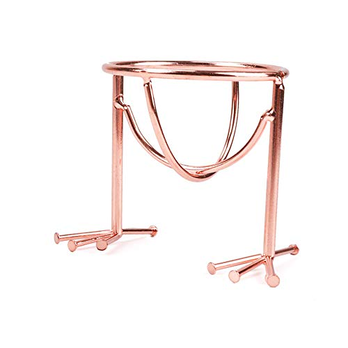1PCS geformt Rose Gold Makeup Sponge Holder Sponge Trocknen Rack Powder Puff Display Stand, Trocknen Sponge Rack, Trocknen Blender Shelf -