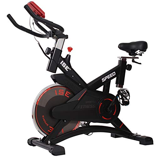 ISE Bicicleta Estática Spinning Profesional