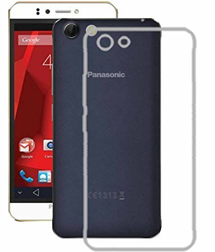 Shop Buzz Soft Transparent Back Cover For Panasonic P55 NOVO - (Soft Silicon Back Case For P55 Novo)