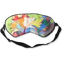Blue Yorkie Dog Cool Eye Sonnenschutz Schlafmaske für Männer Frauen Kinder Weiß preisvergleich bei billige-tabletten.eu