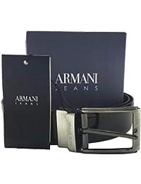 83cee312b4ac Amazon.fr   Ceinture Armani Homme   Vêtements