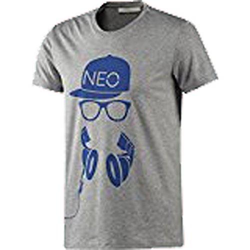 Adidas Neo Herren T-Shirt Cap and Glasses Tee grau S