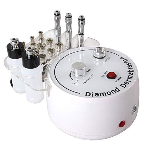 3 en 1 diamante Microdermabrasion Dermoabrasion máquina limpieza facial eliminación kit salon uso casa máquina de belleza