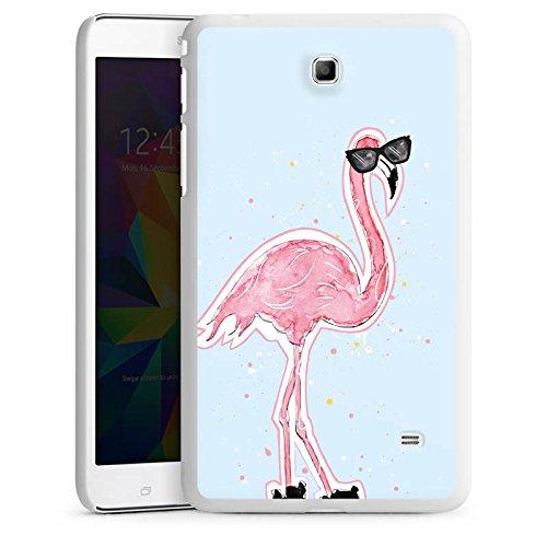 DeinDesign Samsung Galaxy Tab 4 7.0 Hülle Schutz Hard Case Cover Flamingo Cool Sonnenbrille
