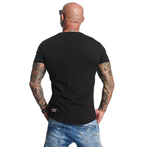 Yakuza Uomo Maglieria/T-Shirt Basic Nero