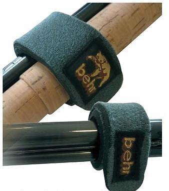 Behr Neopren Rutenbänder Klettbänder (2 Stück), Rutenklettbänder,