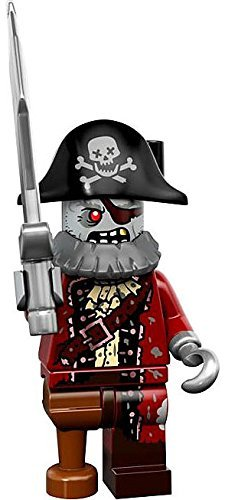 LEGO Series 14 Minifigure Zombie Pirate Captain by - Lego Zombie