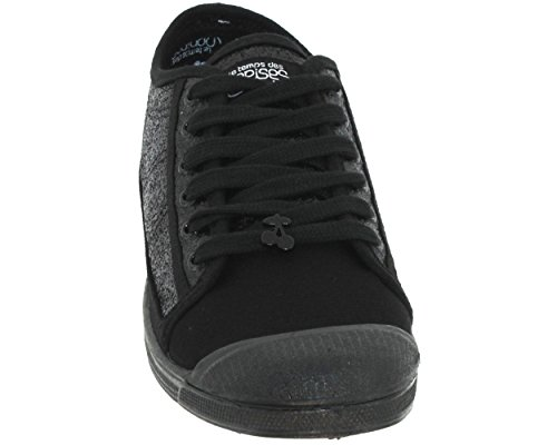 LC-BASIC 02-SS / PERM- Low-Sneakers-Baskets Basses Noir (glitter Black)