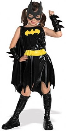 Deluxe Batgirl - Super Heroes - Kinder-Kostüm - Medium - 132cm