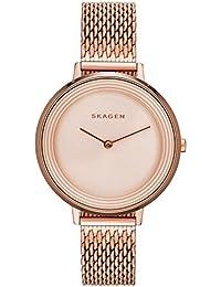 Skagen Damen-Armbanduhr Analog Quarz Edelstahl SKW2334