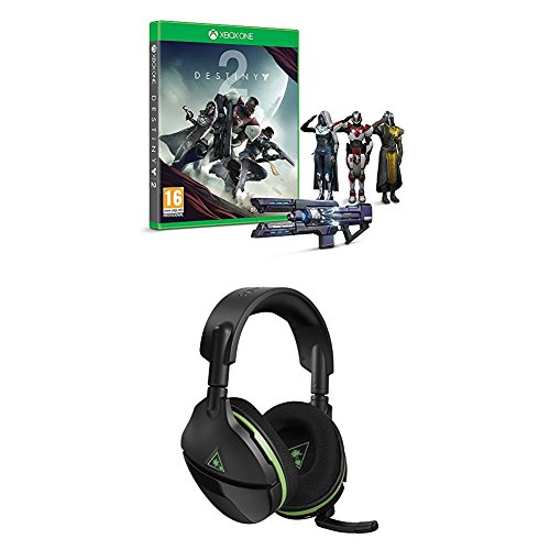 Destiny 2 w/ Salute Emote and Turtle Beach Stealth 600 Wireless Surround  Sound Gaming Headset (Xbox One)