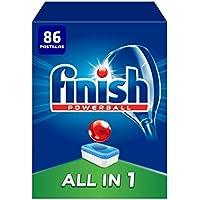 Finish Todo en 1 Original Limón Pastillas para Lavavajillas - 86 pastillas