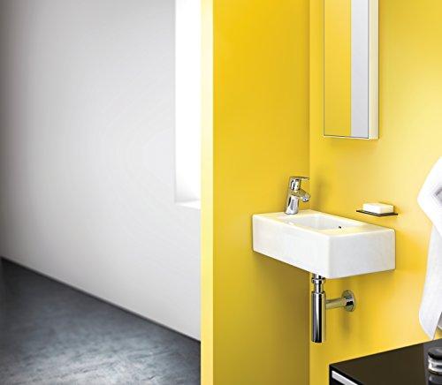 Hansgrohe – Waschtischarmatur, Push-Open Ablaufgarnitur, QuickClean, EcoSmart, Chrom, Serie Focus 70 - 4