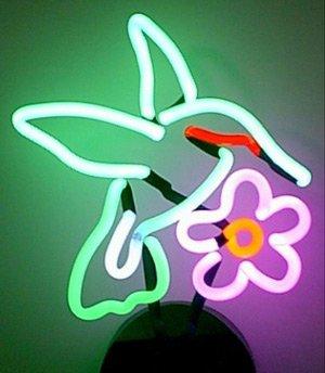 Neonetics Business Signs Hummingbird Neon Sign Sculpture by Neonetics
