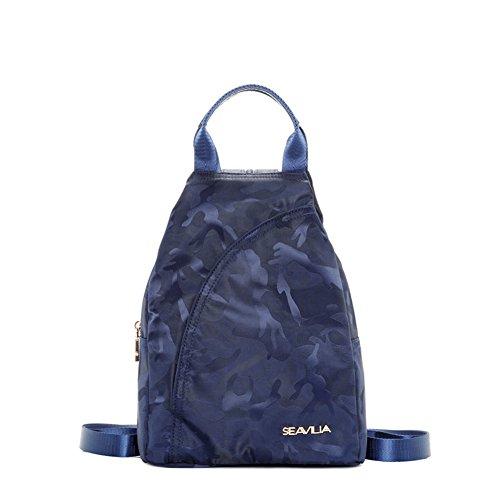 Oxford bunilong Camo mini zaino/ casual tela petto Pack/zaino-C B