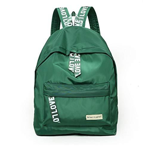 Swiftswan zaino in nylon casual per borsa da donna per ragazze, misura piccola, leggero, 14,9 pollici