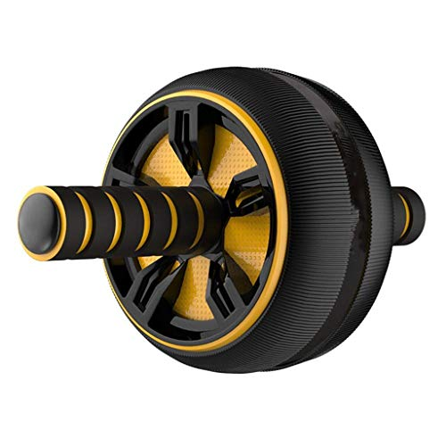 YDHWT Bauchmuskeln Wheel - Iron Gym Geschwindigkeit Komplett Ab Workout-System, Bauch Roller Rad