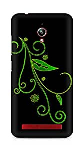 Amez designer printed 3d premium high quality back case cover for Asus Zenfone Go ZC500TG (Abstract Dark 8)