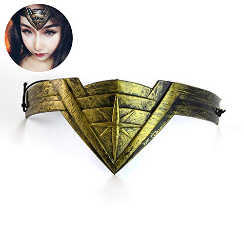 an Stirnband für Wonder Frau Cosplay Head Accessoire Prop (7