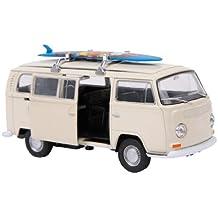 Modellino Auto VW Bus T2 + tavola da surf
