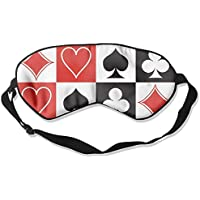 Grid Poker Playing Cards 99% Eyeshade Blinders Sleeping Eye Patch Eye Mask Blindfold For Travel Insomnia Meditation preisvergleich bei billige-tabletten.eu