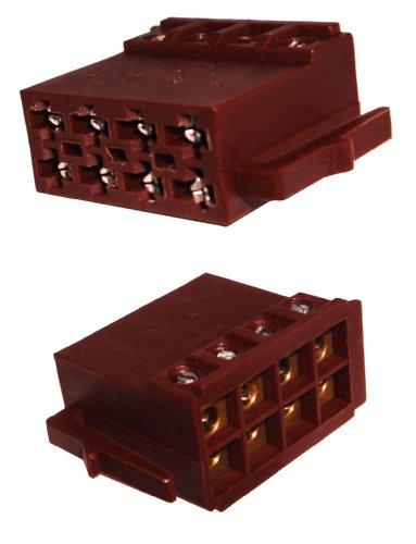 Preisvergleich Produktbild Autoradio ISO-Stecker Adapter für Strom - schraubbare Version 0031W9