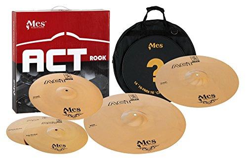 Mes ACT Rock Series Becken Set Live (14