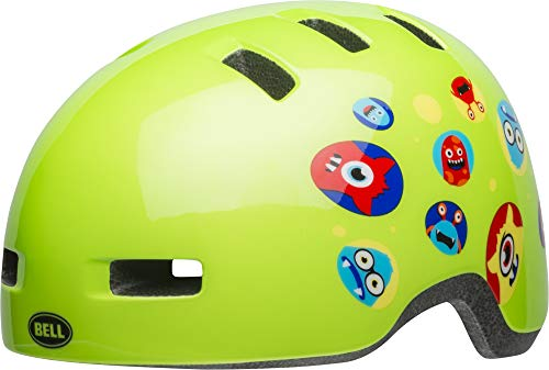 Bell Unisex Jugend Lil Ripper Fahrradhelm, Green Monsters, Uni Child (Bell Kleinkind-fahrrad-helm)