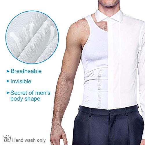 Zoom IMG-3 maglietta da uomo modellante dimagrante