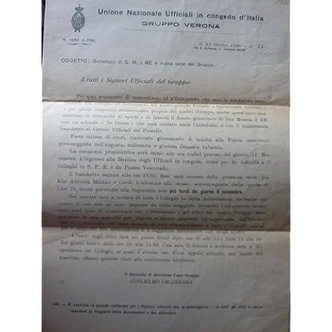 UNIONE NAZIONALE UFFICIALI IN CONGEDO D'ITALIA Gruppo