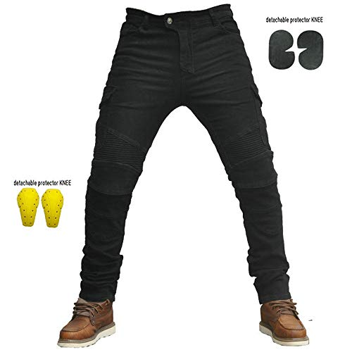 Hombre Motocicleta Pantalones Moto Jeans